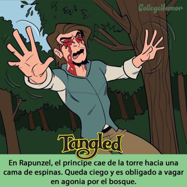 Conoce 10 cuentos de Disney que fueron modificados para llegar a la pantalla grande tangled