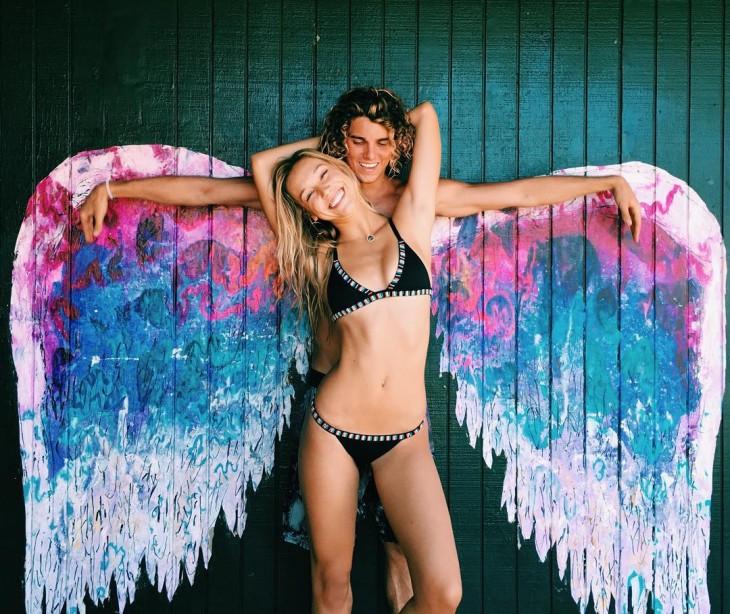 Conoce a esta popular pareja que demuestra su amor pasando las fronteras ángel