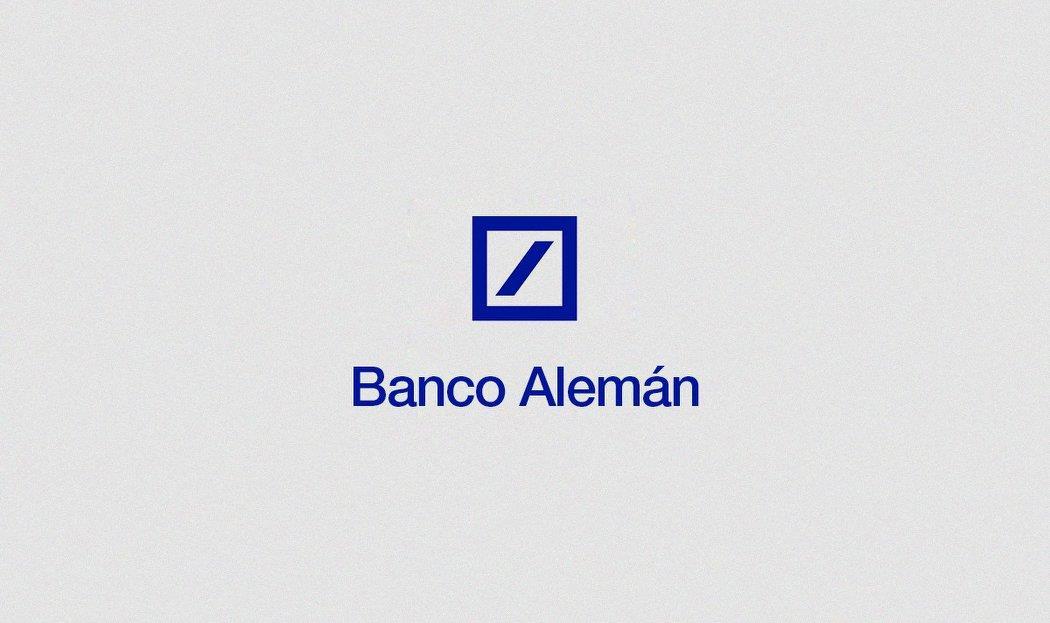 Conocidas marcas con sus nombres traducidos al español deutsh bank