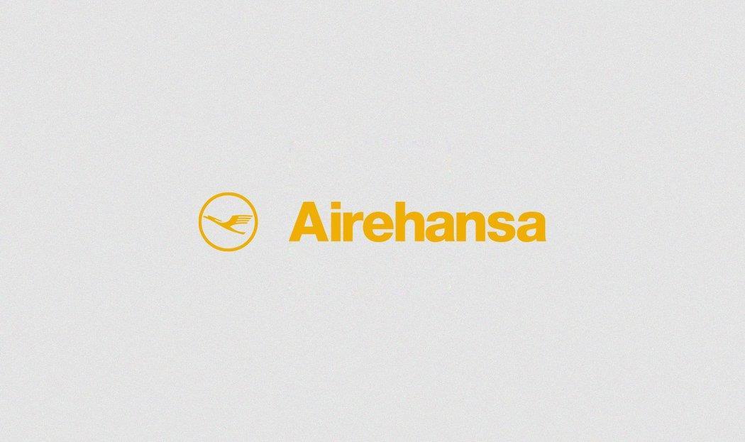 Conocidas marcas con sus nombres traducidos al español lufthansa