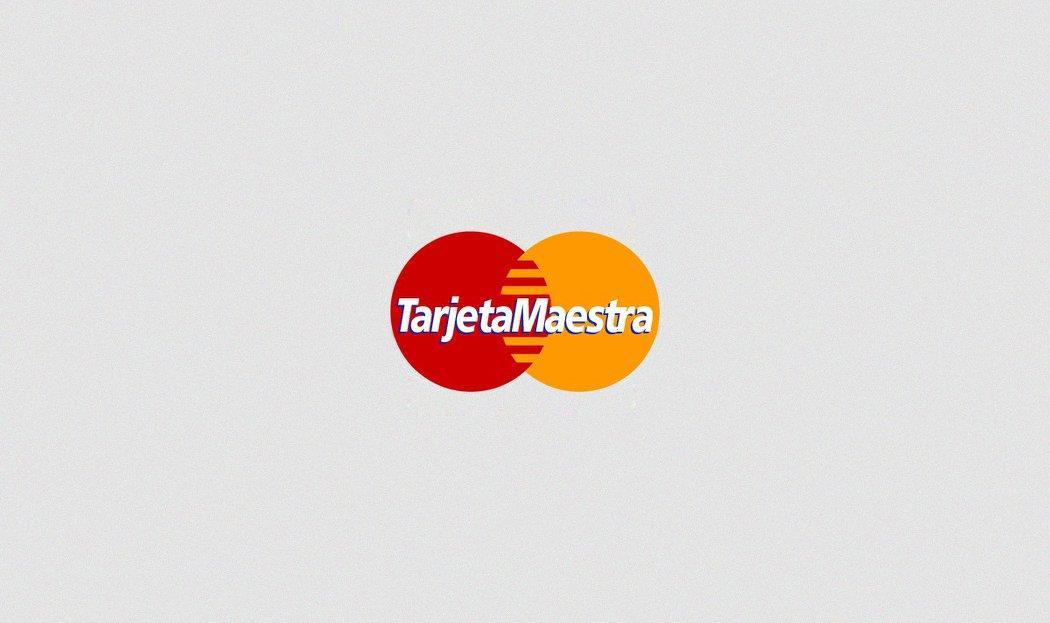 Conocidas marcas con sus nombres traducidos al español master card