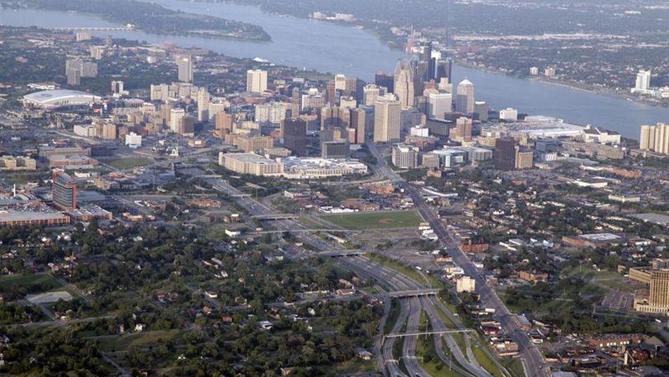 Estas son las ciudades en las que te pagan por vivir en ellas detroit