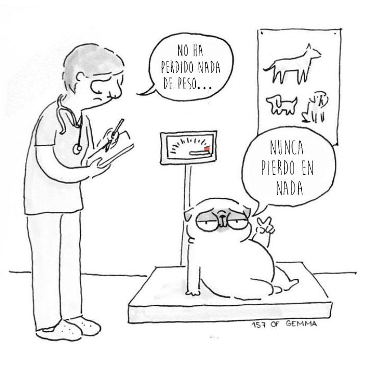 Divertidas ilustraciones que solo los dueños de los Pug entenderán 23