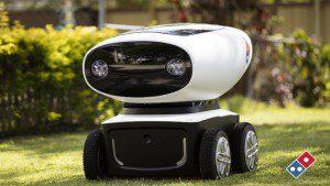 Domino´s Pizza presenta un nuevo robot repartidor que está dando mucho que hablar