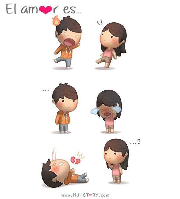 Emotivas situaciones que expresan el amor en pareja 20