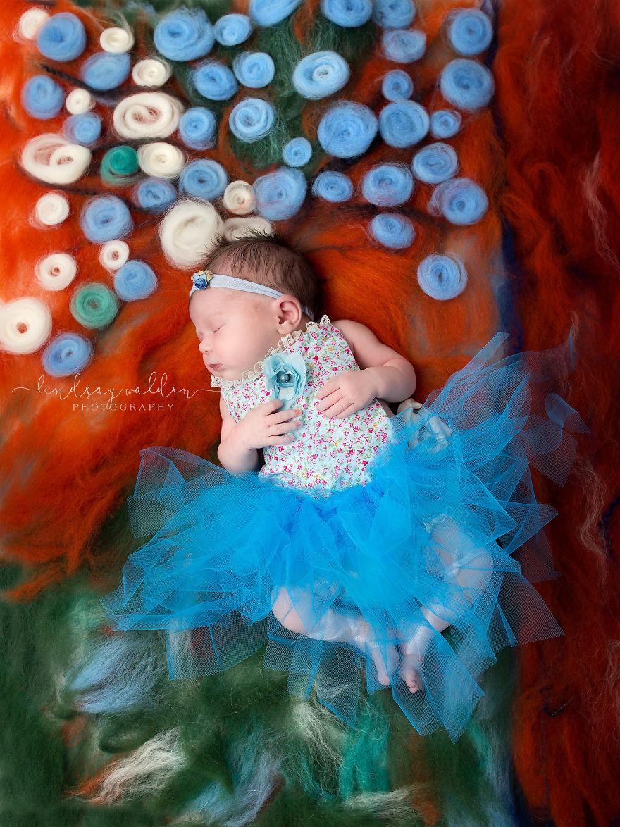 Esta fotógrafa recrea conocidas obras de arte utilizando tiernos bebés como modelos degas