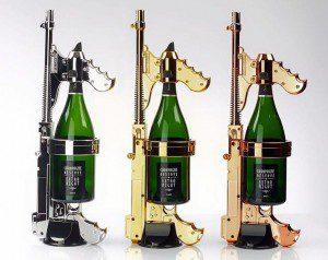 Esta pistola de champagne hará que los shots sean cosa del pasado