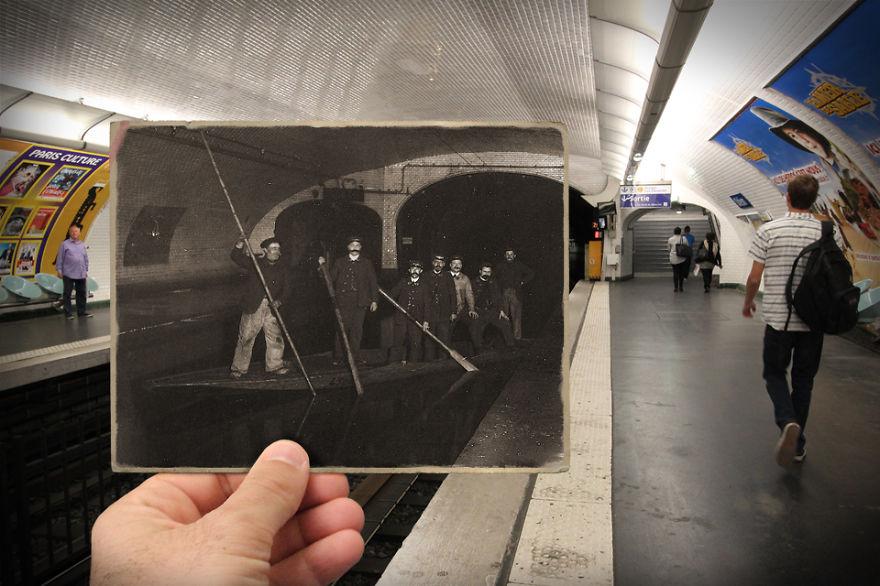 Fotografías que acercan la historia con la actualidad 06