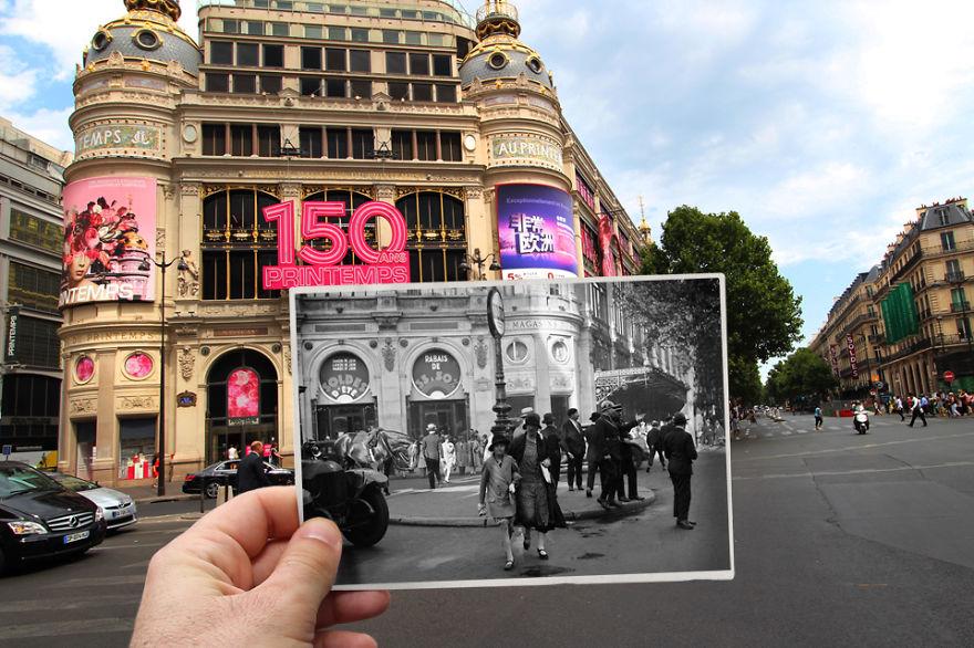 Fotografías que acercan la historia con la actualidad 10