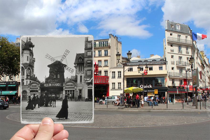 Fotografías que acercan la historia con la actualidad 11