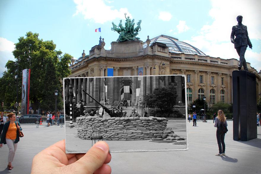 Fotografías que acercan la historia con la actualidad 12