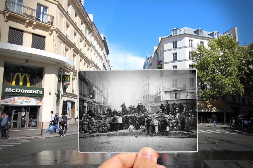 Fotografías que acercan la historia con la actualidad 13