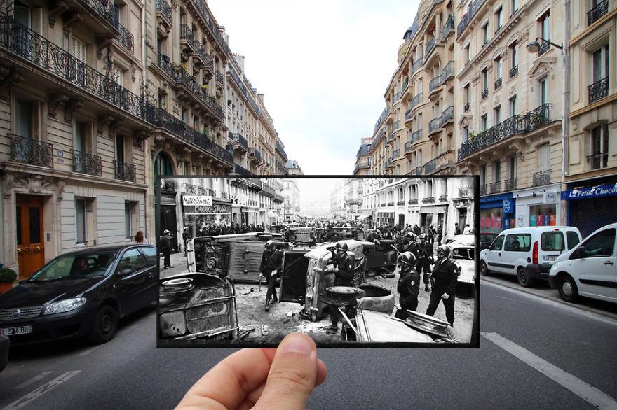 Fotografías que acercan la historia con la actualidad 14