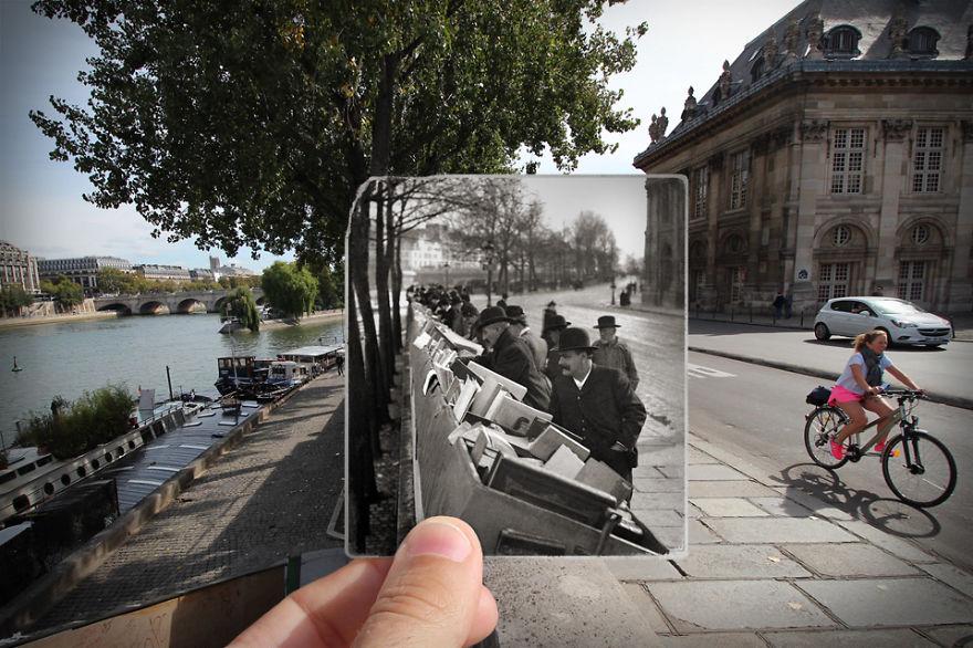 Fotografías que acercan la historia con la actualidad 16