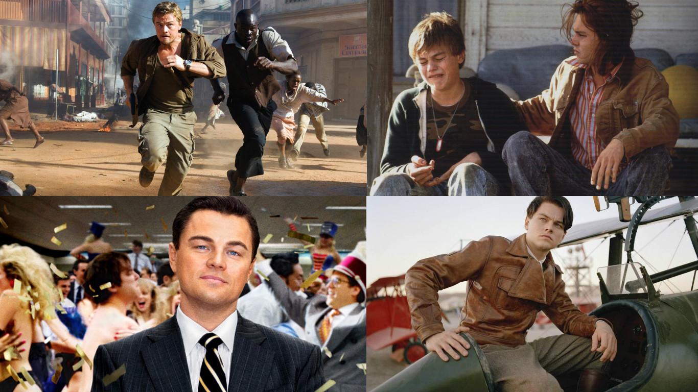 Las Películas nominadas al Oscar de Leonardo DiCaprio