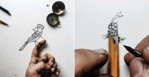Ilustraciones en pequeños tamaños que sorprenden a lo grande