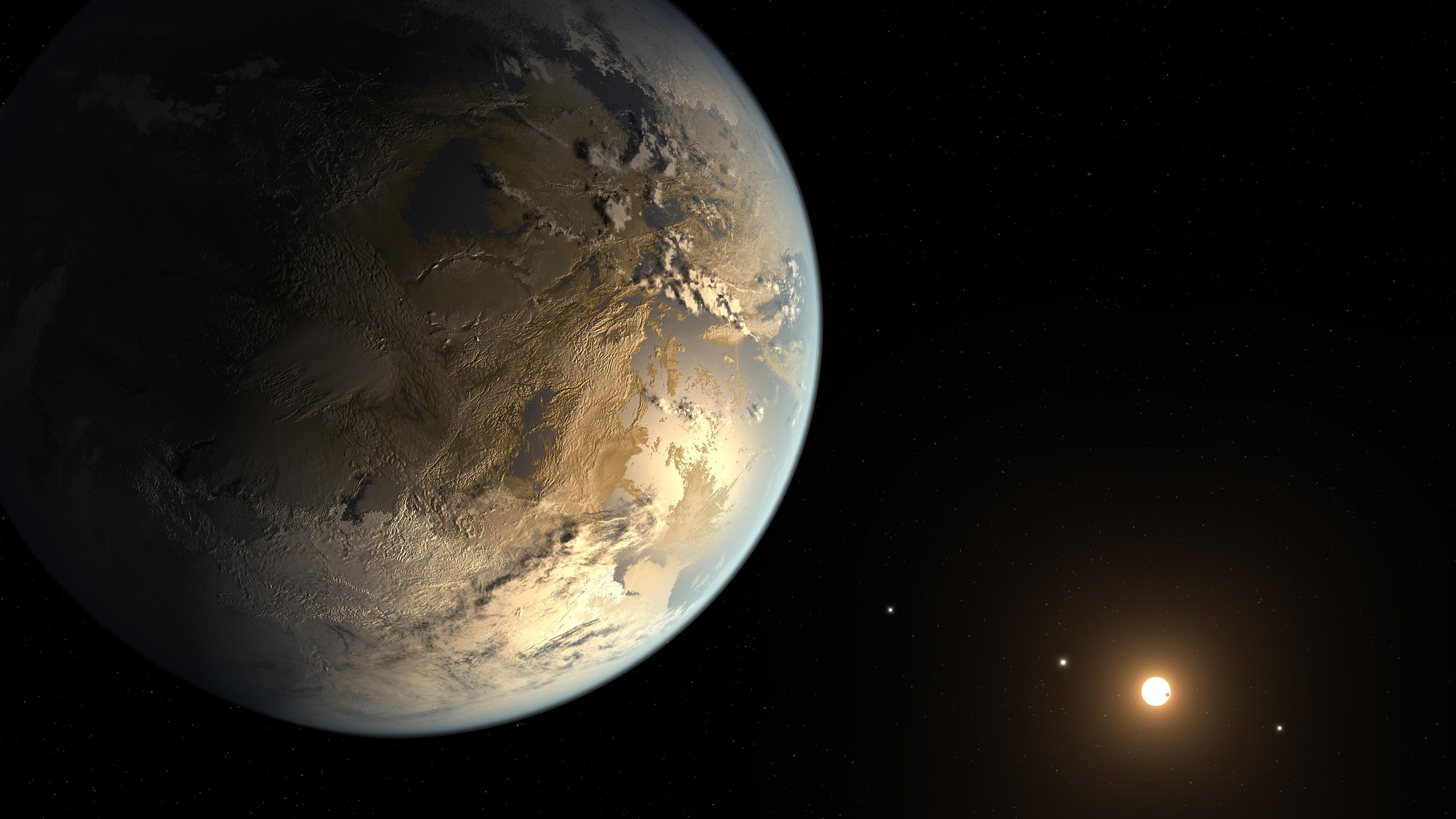Conoce el planeta que es primo de la tierra keple