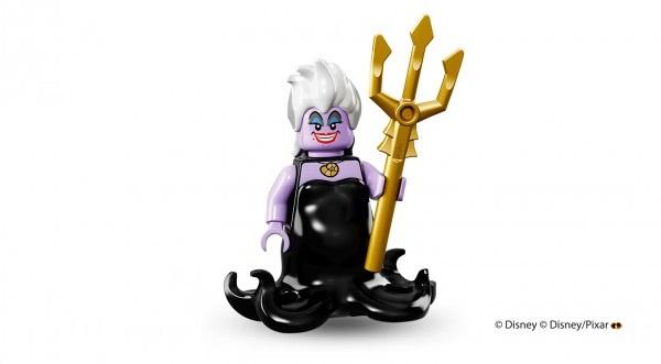 LEGO anuncia la llegada de las minifiguras de los personajes de Disney úrsula