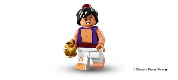 LEGO anuncia la llegada de las minifiguras de los personajes de Disney aladino