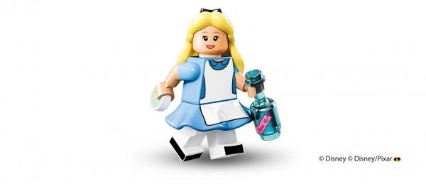 LEGO anuncia la llegada de las minifiguras de los personajes de Disney alicia
