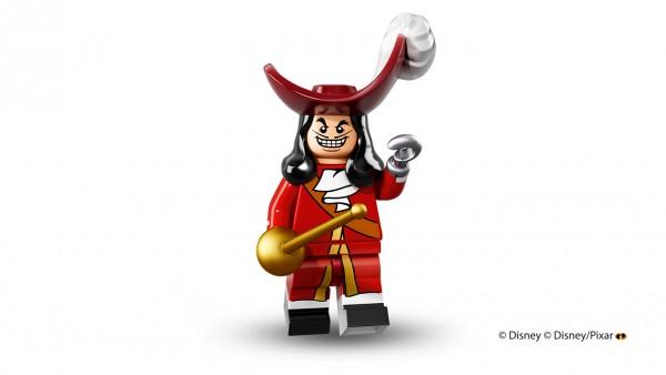 LEGO anuncia la llegada de las minifiguras de los personajes de Disney capitán garfio