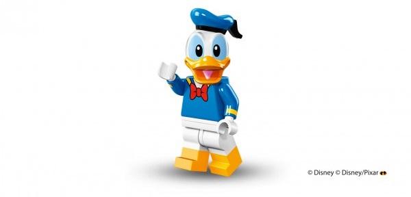 LEGO anuncia la llegada de las minifiguras de los personajes de Disney donald