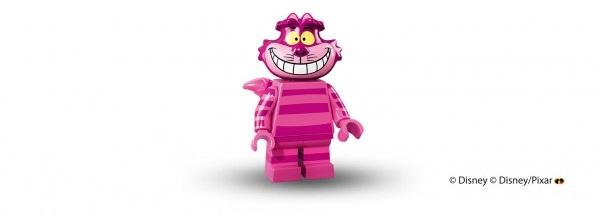 LEGO anuncia la llegada de las minifiguras de los personajes de Disney gato alicia