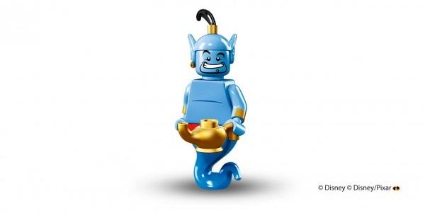 LEGO anuncia la llegada de las minifiguras de los personajes de Disney genio lámpara
