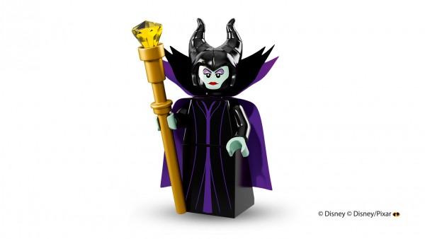 LEGO anuncia la llegada de las minifiguras de los personajes de Disney maléfica