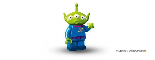 LEGO anuncia la llegada de las minifiguras de los personajes de Disney marciano