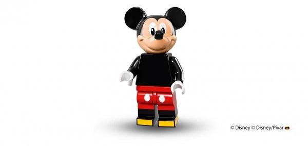 LEGO anuncia la llegada de las minifiguras de los personajes de Disney mickey
