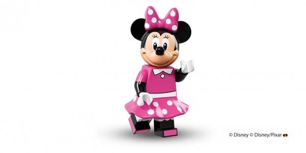 LEGO anuncia la llegada de las minifiguras de los personajes de Disney miney