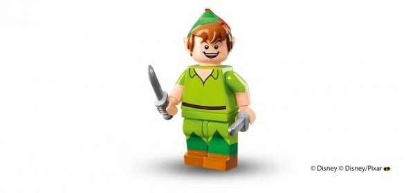 LEGO anuncia la llegada de las minifiguras de los personajes de Disney peter pan