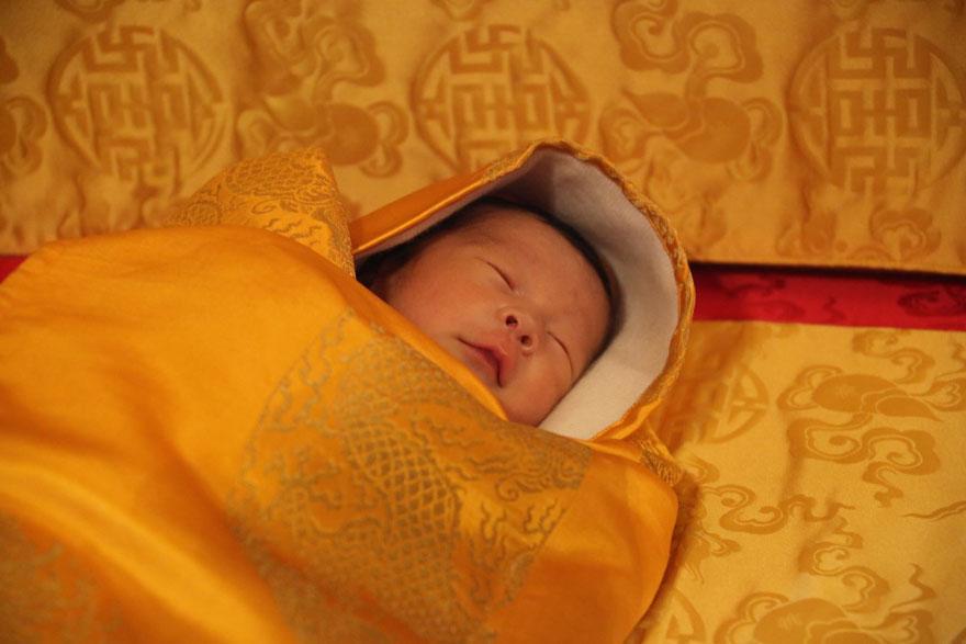 La llegada del nuevo príncipe de Bután es celebrada con 108,000 árboles plantados 08