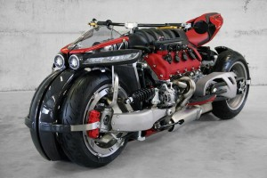 Si Batman quisiera una motocicleta de paseo pediría esta, pero en color negro