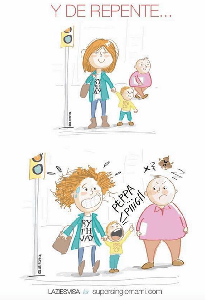 Situaciones con las que toda madre soltera se sentirá identificada 12