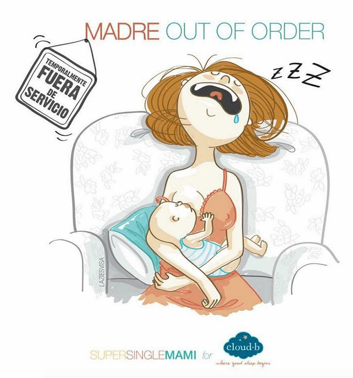 Situaciones con las que toda madre soltera se sentirá identificada 13