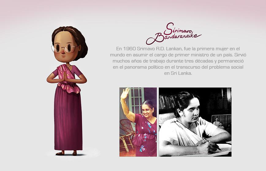 Las mujeres más reconocidas del mundo hechas ilustraciones9