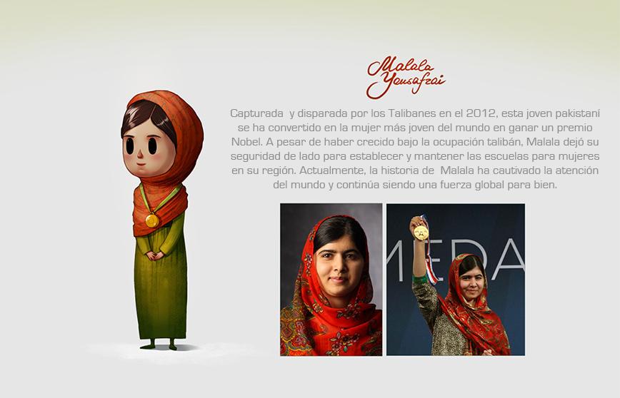 Las mujeres más reconocidas del mundo hechas ilustraciones8