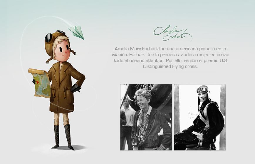 Las mujeres más reconocidas del mundo hechas ilustraciones 4