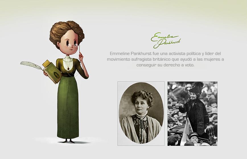 Las mujeres más reconocidas del mundo hechas ilustraciones 5
