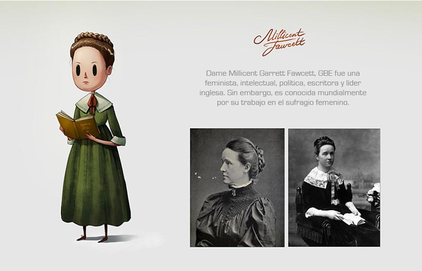 Las mujeres más reconocidas del mundo hechas ilustraciones 1