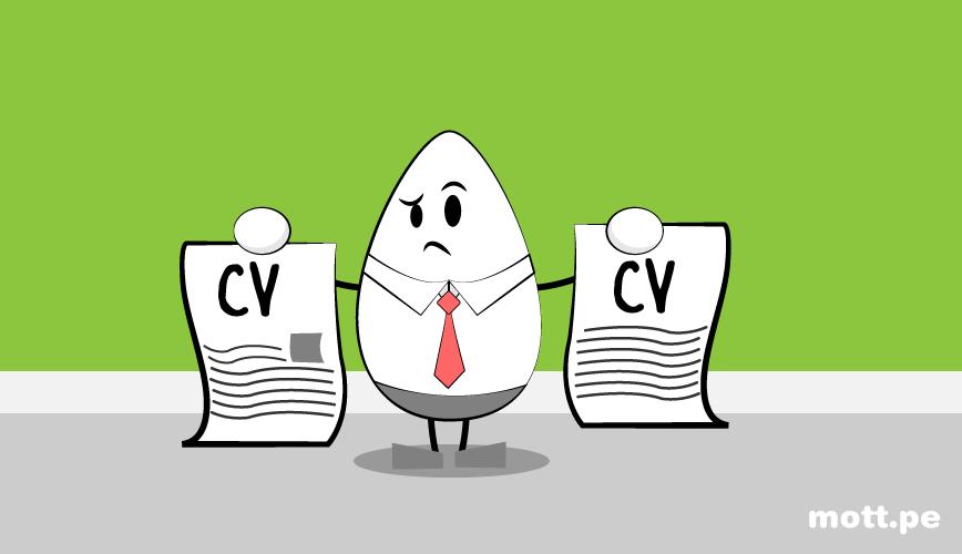 10 errore tipicos en los curriculum que espantan a los empleadore varios cv