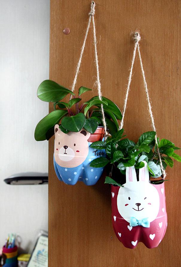 Apoyemos al planeta con estos métodos de reciclaje porta plantas