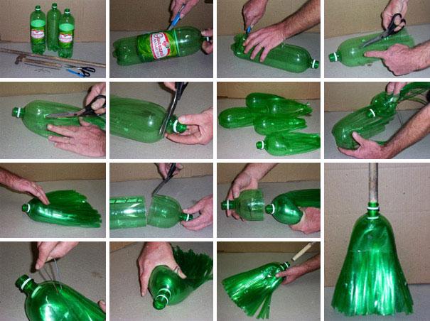 Apoyemos al planeta con estos métodos de reciclaje escoba
