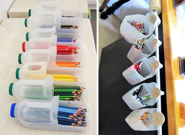 Apoyemos al planeta con estos métodos de reciclaje porta lapices
