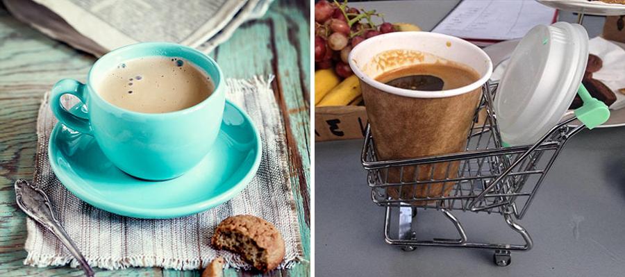 15 alimentos que consumimos a diario junto a su versión Hipster cafe1