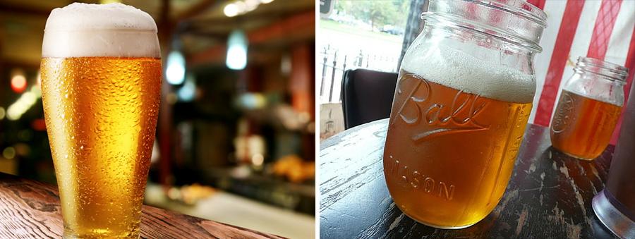 15 alimentos que consumimos a diario junto a su versión Hipster cerveza