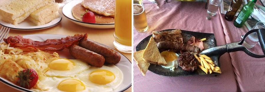 15 alimentos que consumimos a diario junto a su versión Hipster desayuno