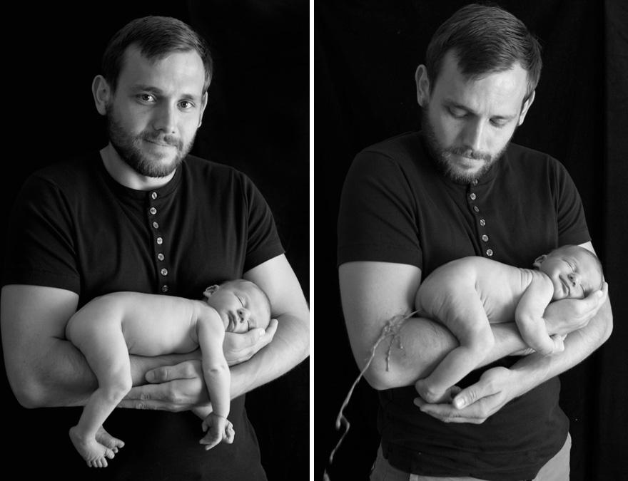 17 detrás de cámaras de las sesiones de fotos de bebés 01